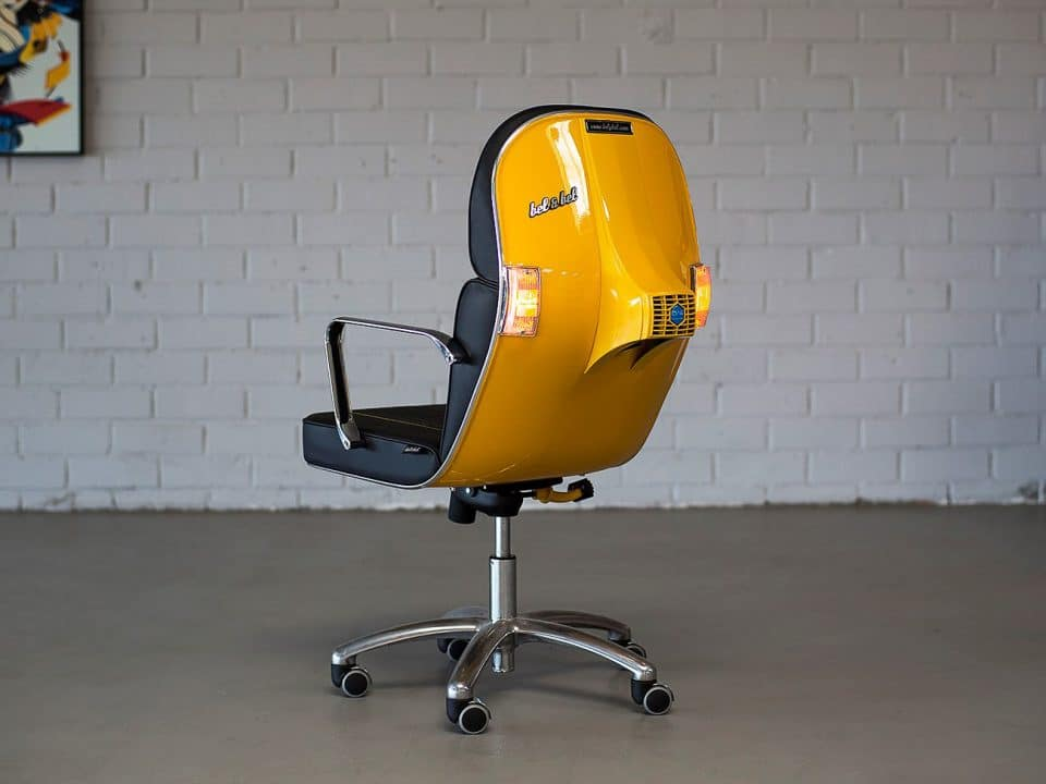 Scooter chair - Vespa chair - Chair made from Vespa
