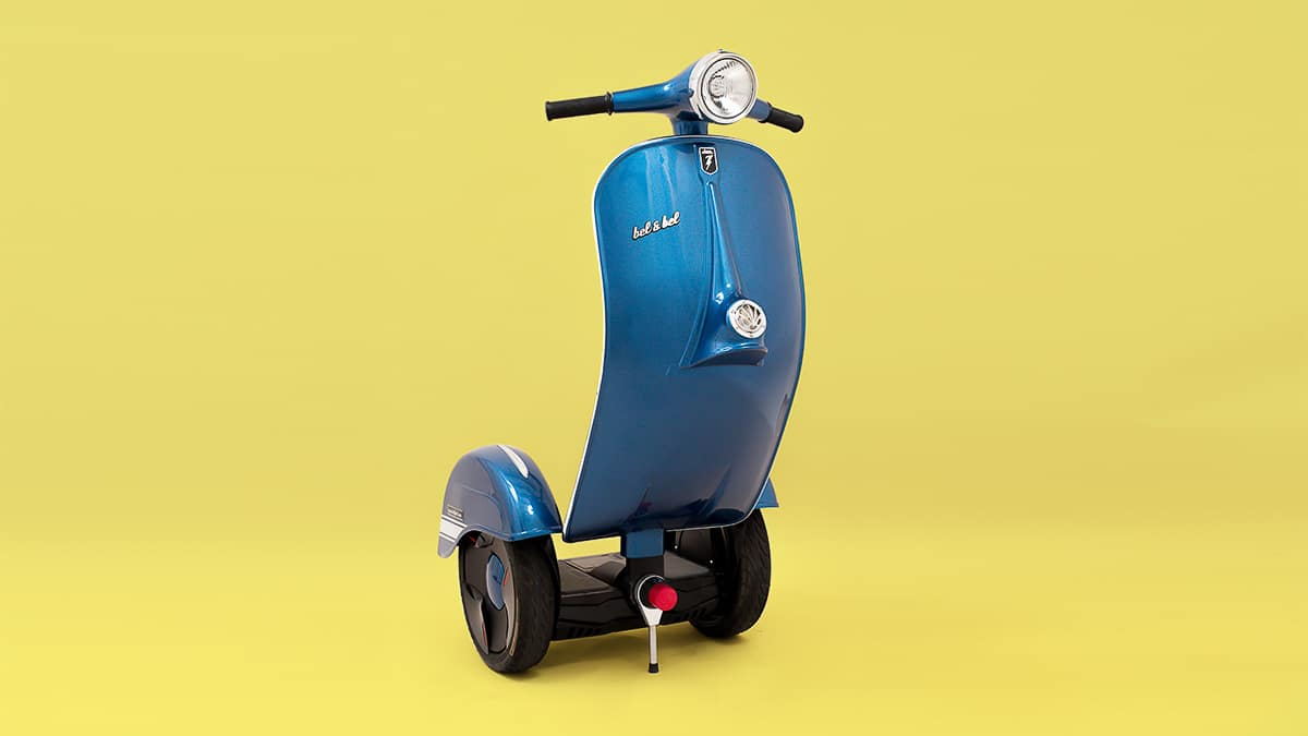 Z-Scooter, Self- balancing electric scooter, vespa segway