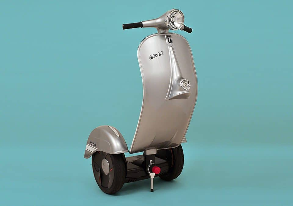 Z-Scooter, Self-balancing electric scooter, vespa segway