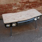 SEAT CAR DESK 132 - DESK MADE FROM CAR-10