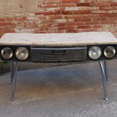 SEAT CAR DESK 132 - DESK MADE FROM CAR-11