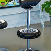 Vintage Stool Bar - Bar Stools from Classic Scooter-11