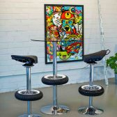 Vintage Stool Bar - Bar Stools from Classic Scooter-12
