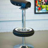 Vintage Stool Bar - Bar Stools from Classic Scooter-13