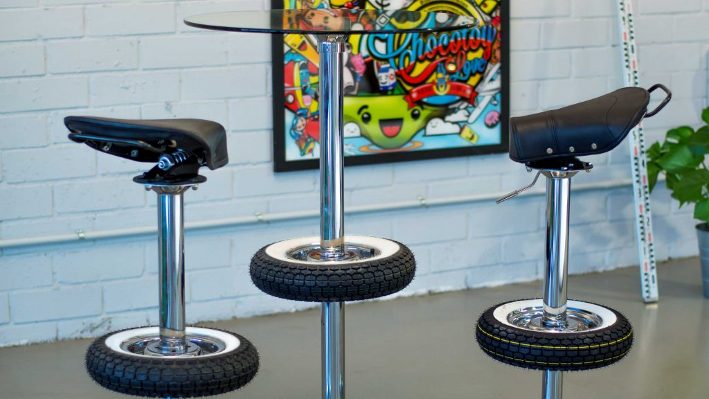 Incredible Vintage Stool Bar Creations Belbel Creative Studio Caraccident5 Cool Chair Designs And Ideas Caraccident5Info