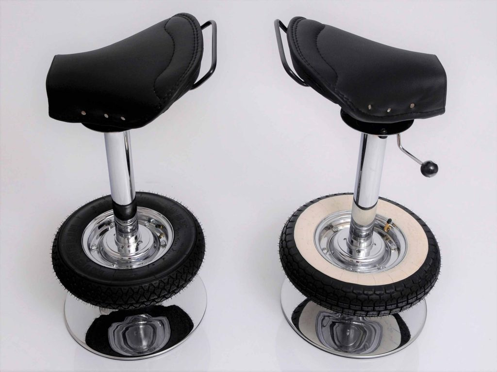 Astounding Vintage Stool Bar Creations Belbel Creative Studio Caraccident5 Cool Chair Designs And Ideas Caraccident5Info