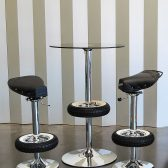 Vintage Stool Bar - Bar Stools from Classic Scooter-7