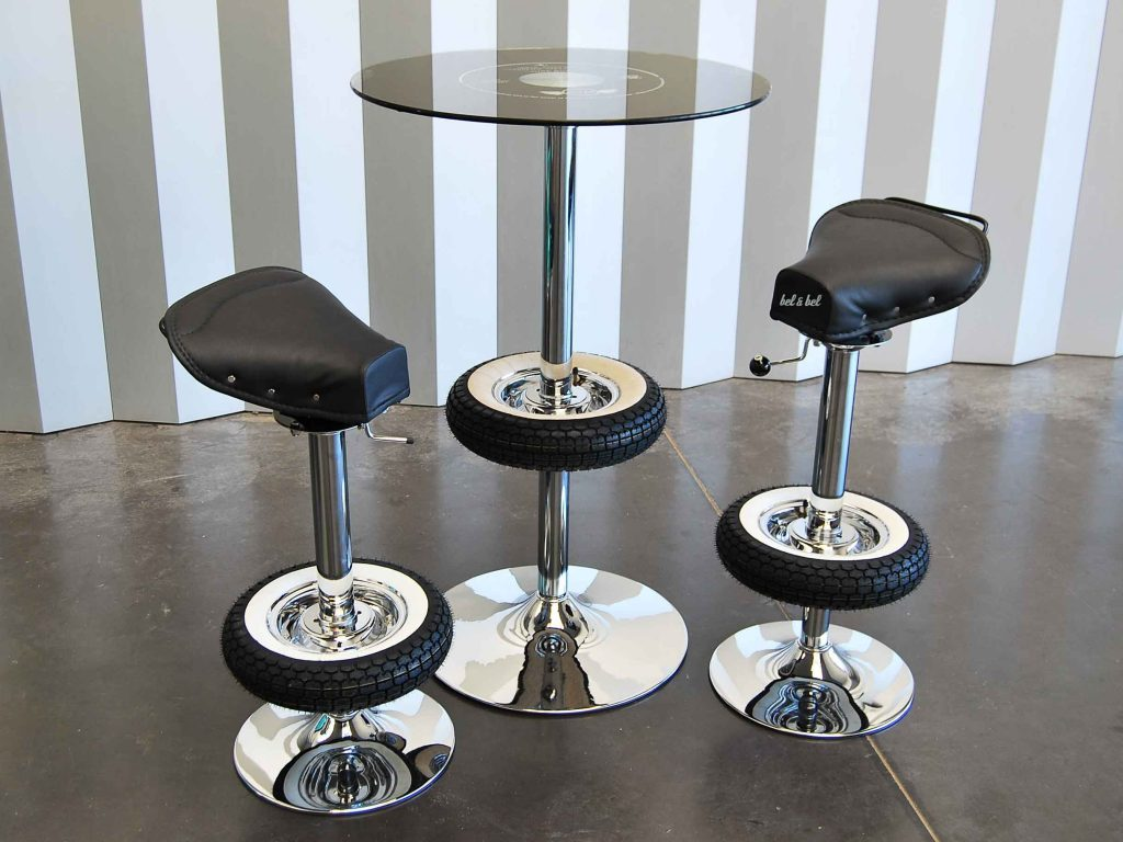 Pleasant Vintage Stool Bar Creations Belbel Creative Studio Caraccident5 Cool Chair Designs And Ideas Caraccident5Info
