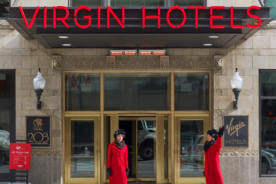 Virgin Hotel Chicago by Bel&Bel