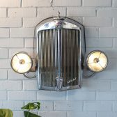 custom lamps made with vehicles