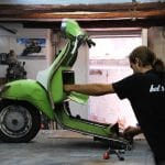 making of scooter chair