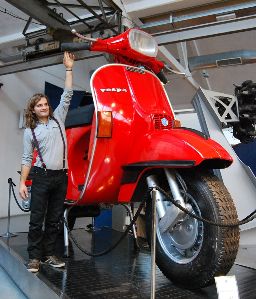Scooter Chair in Piaggio Museum