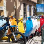 bel&bel and La guepe Mobile. Sustainable transporation in St Tropez