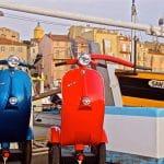 bel&bel and La guepe Mobile. Sustainable transporation in St Tropez